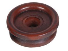 Repro of Atwater Kent Wood Knob (plastic): click to enlarge