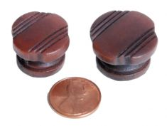 Silvertone Wood Knob (Plastic) : click to enlarge