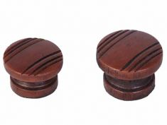 Silvertone Wood Knob (Plastic): click to enlarge