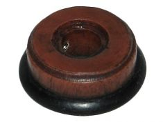 Repro of Zenith 835 Wood Knob (plastic): click to enlarge