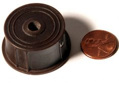 Zenith 1939 Tuning Knob: click to enlarge