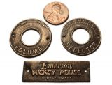 "Emerson ""Mickey Mouse"" Badge"
